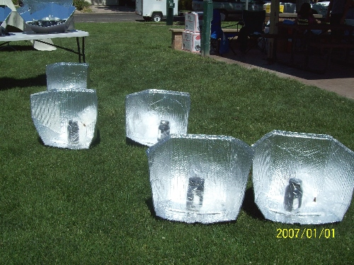 Simple Solar Panel Cookers