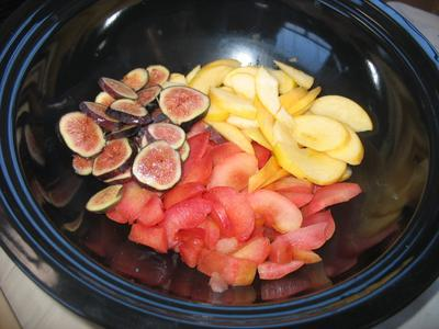 Fruit Crunch ready to cook in the Hot Pot