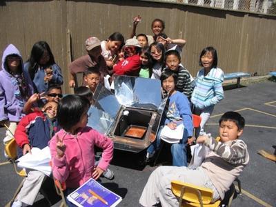 Schoolyard Solar Cooking