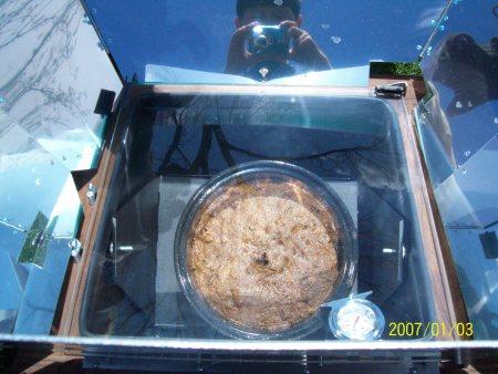 solar oven recipe