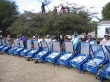 Solar Box Cookers, Bolivia