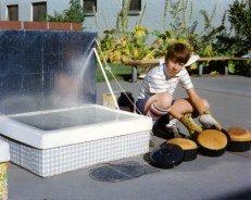 Solar Box Cooker ,bread