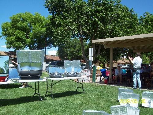 Solar Cooking Class-St.George, Utah