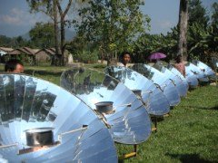 Parabolic Solar Cookers in Asia