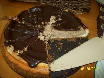 Solar Chocolate Cheesecake