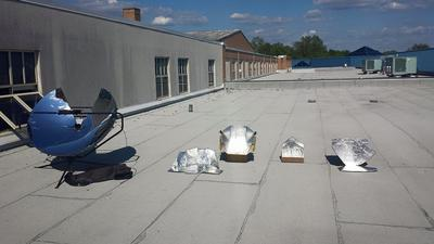 Solar Cooker Array  (of power?)