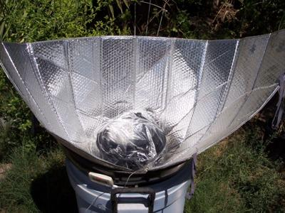 The solar cooker